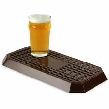 More details for uni bar plastic drip tray brown | back bar drip tray for bars pubs - new