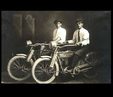 1914 Harley Davidson Founders PHOTO Arthur Davidson +William Harley,Motorcycles