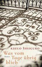 Was vom Tage übrig blieb von Kazuo Ishiguro (30.10.2017, Hardcover)