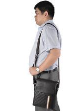 Men's PU Leather Handbag Purse Tote Shoulder Bag Messenger Bags