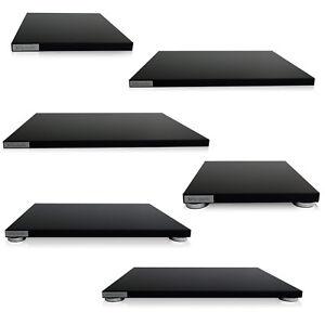 bFly-audio FlatLine Gerätebasis in schwarz / belastbar max. 75 kg