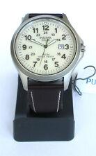 Pulsar PX3007X1 Solar Armbanduhr Herrenuhr 100M Datumsanzeige Lederarmband NEU