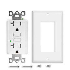 Gfi Gfci Self-Test Outlet 20A 125V Tamper Resistant Wr Duplex Slim Receptacle Us