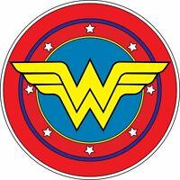 Wonder Woman Logo Vinyl Sticker Batman Car Wall Decal Dawn of Justice