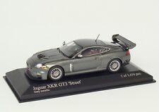 Jaguar XKR gt3 Street 2008 gris Grey Grigio gris met. Minichamps 400081390 1:43