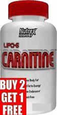 NUTREX LIPO 6 L-CARNITINE 120 liquid capsules BUY2GET3 NOW FOODS