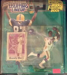 🏈 NFL Football STARTING LINEUP 2000 Randy Moss Minnesota Vikings FIGURE White