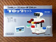 New In Box! Nintendo R.O.B. the Robot Stack-Up set / famicom nes block cib
