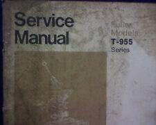 Eaton Fuller T-955 series Transmission Workshop Repair manual, service book