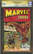 Marvel Mystery Comics #1 CGC 9.8 NM/MT Signed STAN LEE Human Torch Capt America