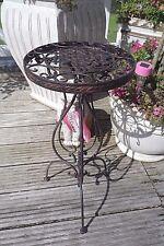 Blumentisch Beistelltisch Telefontisch Antikbraun Eisen 59cm Retro Antikstil Neu