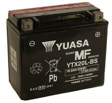 Batterie Yuasa moto YTX20L-BS HARLEY-DAVIDSON CVO FXD Fat Bob (Dyna) 10-12
