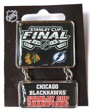 2015 Stanley Cup Champs Dangler Pin - Chicago Blackhawks