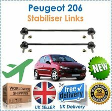 For Peugeot 206 All Models Front Stabiliser Anti Roll Bar Drop Links Set New