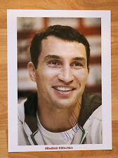 ORIGINAL Autogramm von Wladimir Klitschko. pers. gesammelt. 100 % ECHT. 20x27 F.