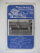 Arsenal Football Reserve Fixture Programmes (1950s)