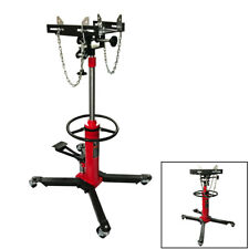 1100 LB Auto Car 2 Stage Hydraulic Transmission Jack Tool with 360°Rotary Wheels