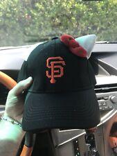 0b07609e0 2018 New SF Giants Hello Kitty Ears Baseball Cap Hat not beanie backpack 7 /29