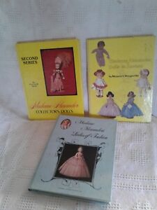 3 Books Of Madame Alexander Dolls Second Series Dolls on Review Ladies Fashion