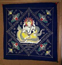Brahma Pha Yan Amulets L.P Thai Buddha Phar Rahu Yantra Ganesha Pra yant Fabric