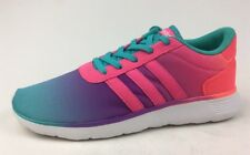 Adidas neo Lite racer Athletic shoes Kids Size 5.5, Mint/Pink 961