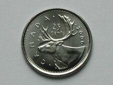 Canada 2006 P 25 CENTS coin - BU gem UNC Lustre - Missing Denticle Variety Error