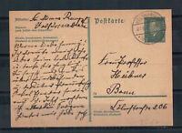 Deutsches Reich, Ganzsache P 181 Volkmarsen nach Bonn 27.06.1932