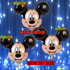 3pcs Mickey Mouse Birthday Party Balloons Balloon Super Shape Disney head