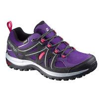 Salomon Ellipse 2 GTX W  Damen Outdoorschuh Wander Trekking Schuhe lila NEU