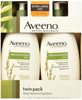 2PACK Aveeno Active Naturals Daily Moisturizing Lotion 20 FL OZ each
