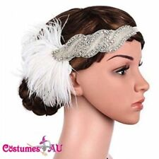 Feather Hair Accessories for Women's 1920's Style