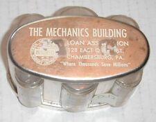 Plastic Bank--Mechanics Building + Loan--Chambersburg, Pa--D