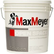 Pittura Muro Murale Interno Traspirante Bianco Opaco 12 LT MAX MEYER OPEN SPACE