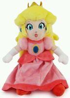SUPER MARIO PELUCHE PRINCIPESSA PEACH - 23Cm. - Bros. Pupazzo Plush Princess Boo