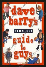 INSCRIBED Dave Barry COMPLETE GUIDE TO GUYS Humor AMERICAN MEN Dudes JOE SIXPACK