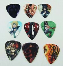 Naruto Anime Japanese Guitar Picks Lot of 10 1.0 mm Free Tracking Thick New