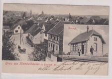DEUTSCHES REICH, AK Gruss aus Kleinballhausen b. Tennstedt i.Th., 1.6.10