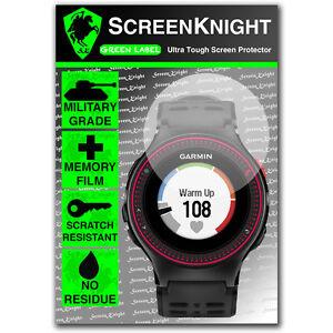 ScreenKnight Garmin Forerunner 220 SCREEN PROTECTOR invisible military shield