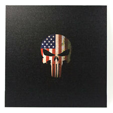 "Infused Kydex Punisher USA Print 7.5"" X 7.5"" Sheet FREE SHIPPING"