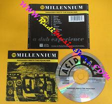 CD MANASSEH MEETS THE EQUALISER Dub The Millennium 1994 Uk no lp mc dvd (CS61)
