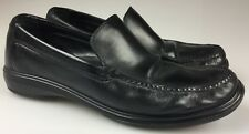 COLE HAAN C09873 Black Leather Moc Toe Moccasin Loafers Men's Size 11.5 M