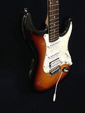 4/4 Haze E-211BS Electric Guitar,Sunburst +Free Bag,Strap,Picks,Digital Tuner