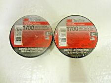 "New listing 2 Rolls 3M Electrical Tape 1700 Temflex Black 3/4"" x 60'"