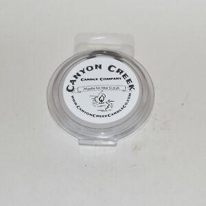 NEW Canyon Creek Candle Company 2oz wax melts EUCALYPTUS & BERGAMOT Hand-poured