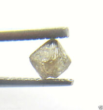 0.52CTS NATURAL OCTAHEDRON CHAMPAGNE CRYSTAL ROUGH DIAMOND 4.70x3.51x3.36 MM