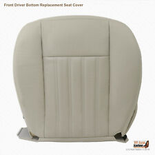 2003 2004 Lincoln Aviator Awd Driver Bottom Leather Replacement Seat Cover Tan (Fits: Lincoln Aviator)