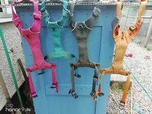 Front range dog harness ruffwear job lot of 4 very used harnesses