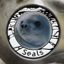 2018 AAT Crabeater Seal Medallion PNC - Limited Edition - Cute Pup