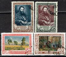 Russia Art Shishkin Famous Paintings set 1948 Used & CTO VF