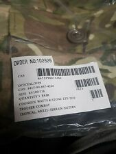 Scarce New MTP S95 Tropical Combat Trousers 85/100/116 (  39 inch waist )